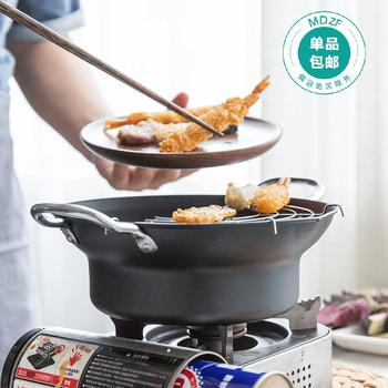 housewives cooking series frying fried tempura pot small household fryer