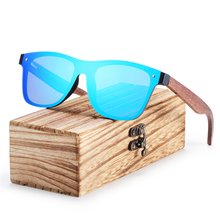 BARCUR Wood font b Sunglasses b font Black Walnut Sun glasses Men Eyewear Fashion Vintage Women