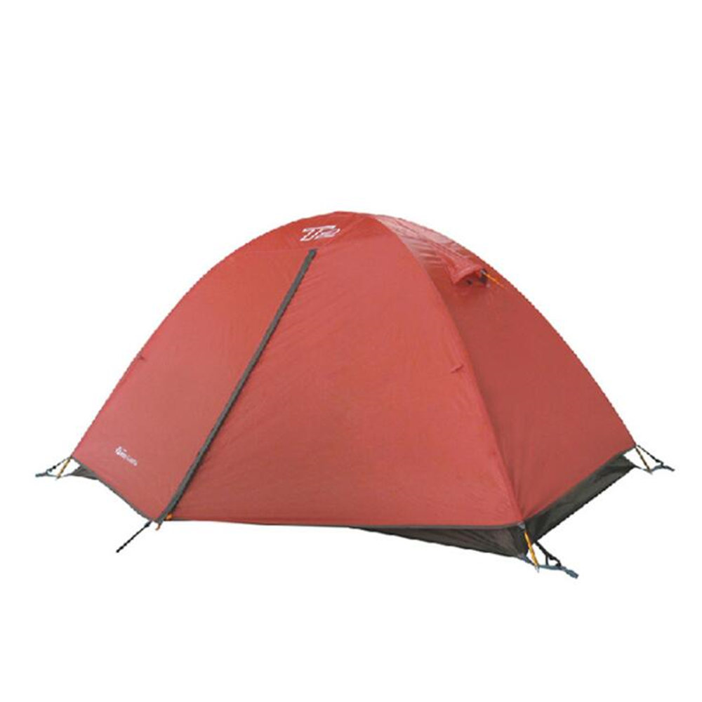 New Ultralight 1-2 Person Double Layers Tents Aluminum Rod 4 Season Windproof Rainstorm Waterproof Camping Tent 2018 hillman camping tent high mountain highland snow mountain double layers silicone coating tents super windproof rainproof