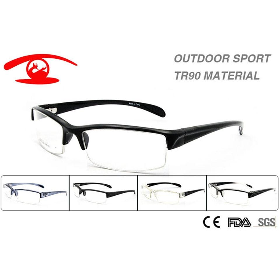 Atacado (10 pçs lote) Novo 2016 Homens Óculos de Prescrição Óculos de Peso  Leve Frame Ótico TR90 Flexível cd09494858