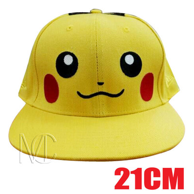 anime-pocket-monster-cosplay-costumes-hats-font-b-pokemon-b-font-cap-pikachu-baseball-cap-canvas-fits-most