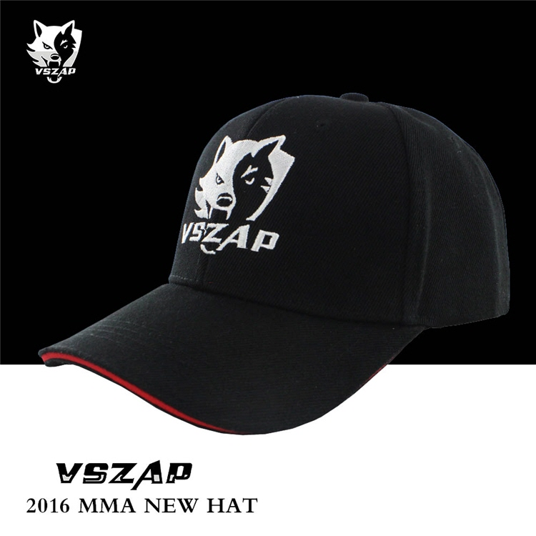 VSZAP WOLF LOGOMMA Fight  Fight Fitness Cap Embroidery Breathable Sport