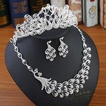 Cheap In Stock Bridal Hats Wedding Accessory Rhinestone Beaded Wedding Headpiece For Bride Hair Jewelry Three piece suit