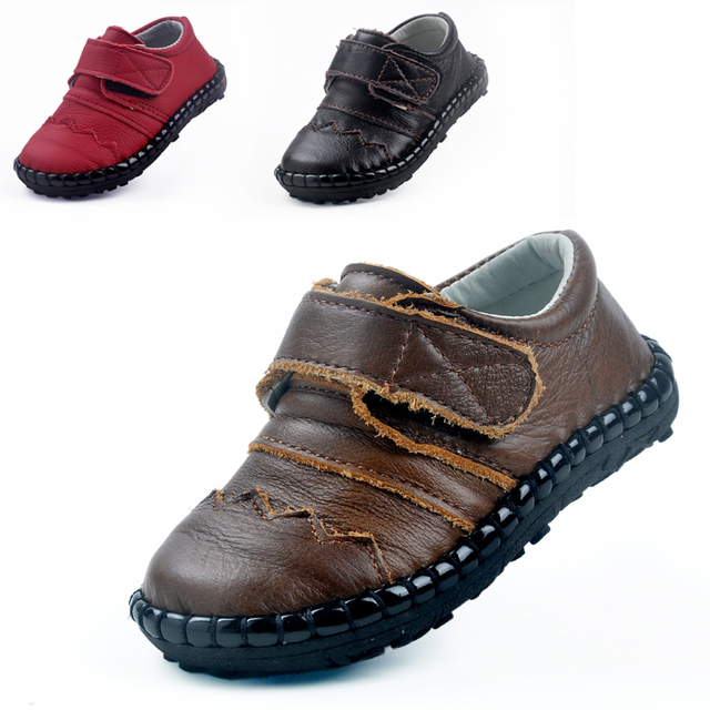 Deion sanders shoes Autumn Baby baby Genuine leather Single shoes Baby toddler shoes The leather by hand Children's shoes