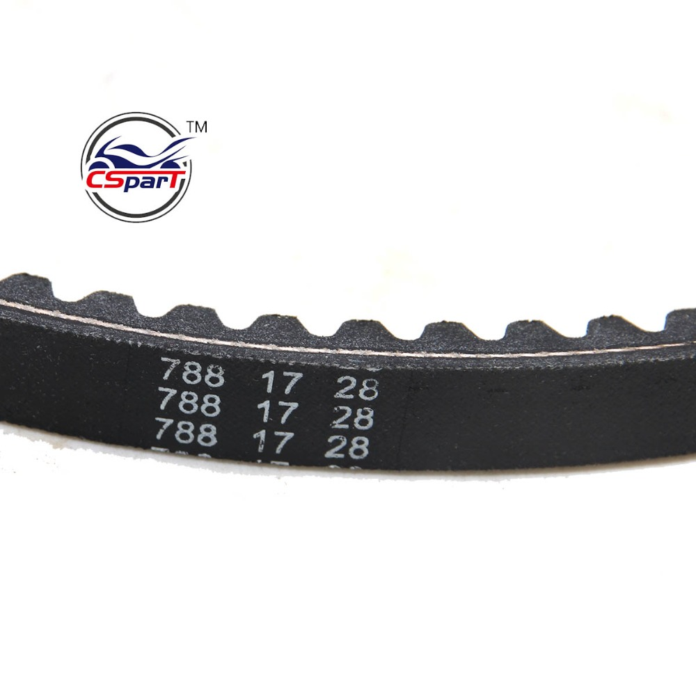 US $6 72 20% OFF|788 17 28 CVT Drive Belt JOG 49CC 50CC 1E40QMB Scooter ATV  Jonway Baotian Roketa Taotao Parts-in V-belts & V-rib Belts from