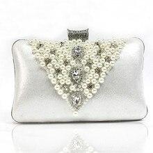 Neue High-grade Abendtaschen Exquisite Luxus Frauen Geldbeutel und Handtaschen Braut Hochzeit Taschen Handgefertigten Glasperlen Kupplungen für Party