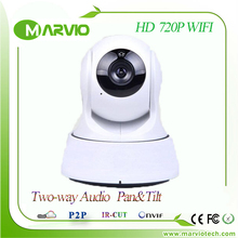 Hot HD 720P 1 Million Pixel Night Vision IR Webcam Web CCTV Network WIFI Wireless IP Camera Pan Tilt Video home alarm system