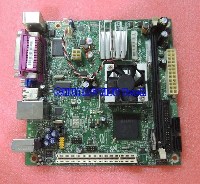 Free shipping CHUANGYISU for Atom 330 D945GCLF2D 945GC Mini ITX motherboard,1.6G,dual core HT,DDR2,work perfect