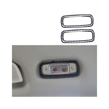 lsrtw2017 carbon fiber car rear reading light frame trims for bmw 5 series g30 g31 525 520 530 528 540 535 2018 2019 e34 520 525 528 530 540