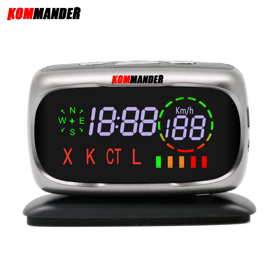 kommander car radar Detector Anti-radar Anti Police Speed Camera with GPS 2 in 1 for Russian can Detection X K CT L Bands observation of nearshore wave field with x band radar