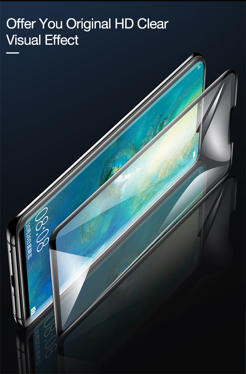 3. tempered glass for huawei mate 20 pro