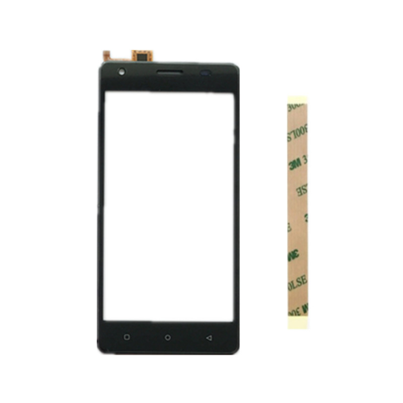5.0inch Black For JUST5 Freedom M303 Cell Phone Front Outer Glass Lens Repair Touch Screen Outer Glass(China)