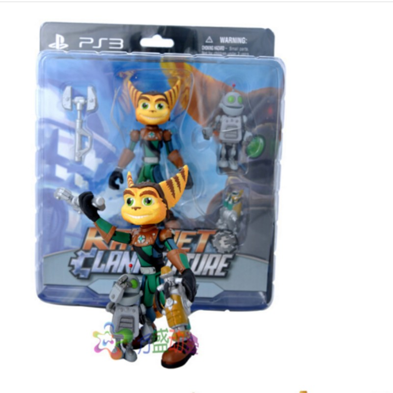 Action Figure Model Toy Ratchet Clank Doll Birthday Gift For