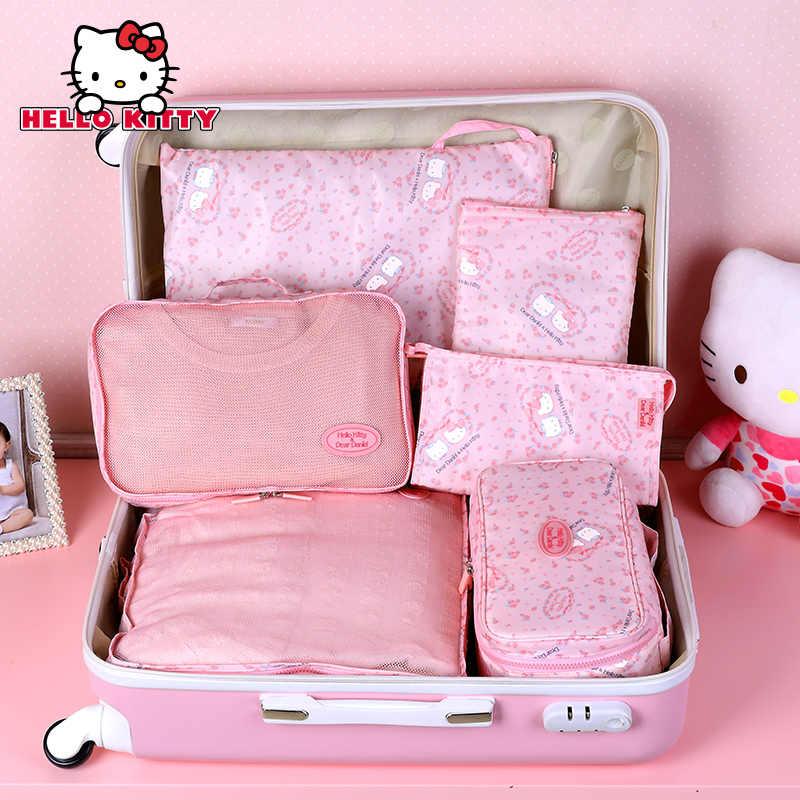 Pakaian Perjalanan Tas Penyimpanan Lipat Tahan Air Tote Tas Makeup Pakaian Bagasi Lemari Organizer Pakaian Nylon Paket Kotak