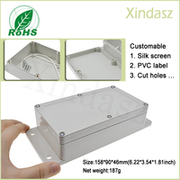 XD F7 158 90 46mm Free Shipping Wall Mounting Outdoor Plastic Enclosures Abs Plastic Enclosures