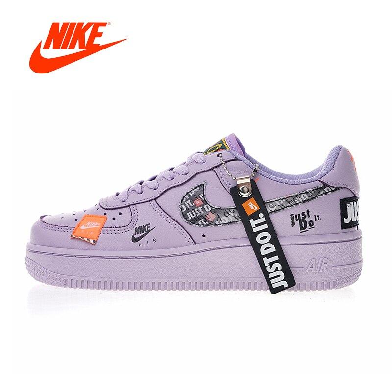 Nuovo Arrivo originale Autentico Just Do It Nike Air Force 1 Low delle Donne Scarpe da pattini e skate Sport Outdoor Sneakers 616725- 500