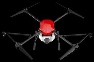 Image 1 - E410 أربعة محاور الزراعية رذاذ الطائرة بدون طيار 10L الإطار 1300 مللي متر قاعدة العجلات 10L نظام الرش X8 / E5000 امدادات الطاقة