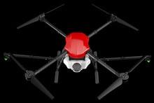E410 4 Trục Nông Nghiệp Phun Máy Bay Không Người Lái 10L Khung 1300Mm Ba Lô Bánh Xe 10L Hệ Thống Phun + X8 / E5000 Điện cung Cấp