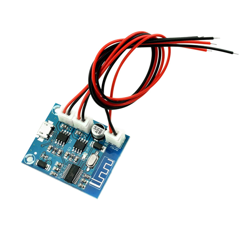 Bluetooth 4.2 Power Amplifier Board Audio Module Stereo channel 5W*2 With Charging DIY Modified Speaker-in Amplifier from Consumer Electronics