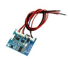 Placa amplificadora de potencia Bluetooth 4,2, módulo de Audio estéreo de Canal 5W x 2 con carga, altavoz modificado DIY