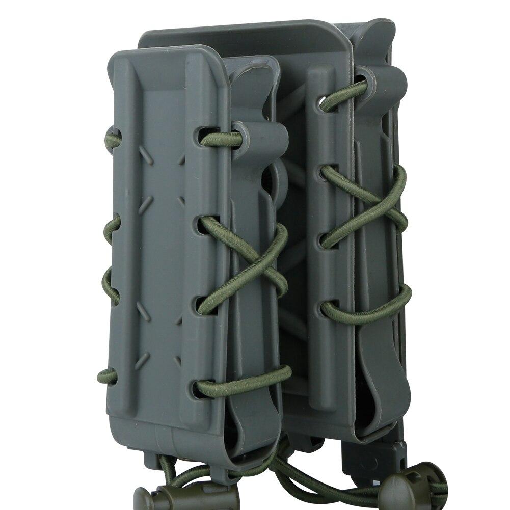 de coldre de airsoft tático para rifle 5.56 7.62 9mm