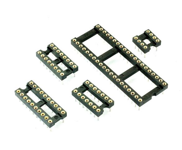 10PCS 8Pins DIP DIP-8 IC Socket Test Socket Round Hole DIP8 DIP14 DIP16 DIP18 DIP20 DIP24 DIP28 DIP32 DIP40 10pcs lot 74hc32ap dip