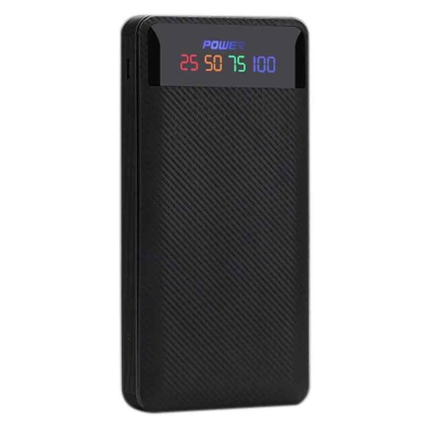 2.1A chargeur portatif à deux bornes usb 6x18650 Chargeur de batterie bricolage Boîte étui pour batterie externe pour téléphone Étui livraison directe Apr 6