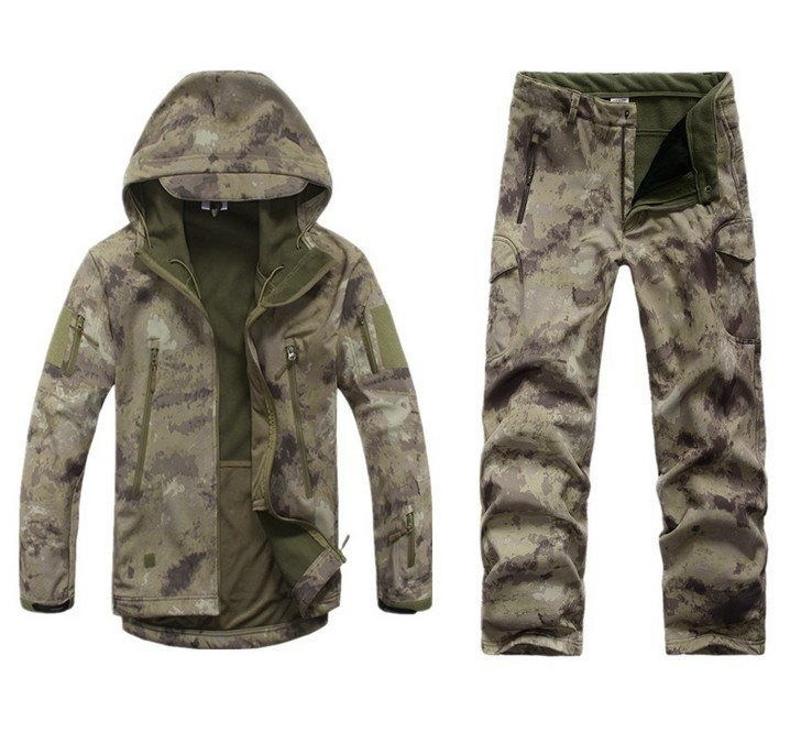 Outdoor Tactical Hunting Tad Soft Shell Camo Jacket Pant