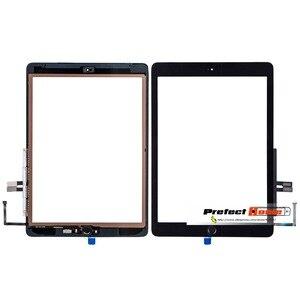 Image 2 - Für iPad 6th 2018 A1893 A1954 Touchscreen Glas Montage Ersatz + Home Taste + Eröffnung Werkzeuge + Gehärtetem Glas