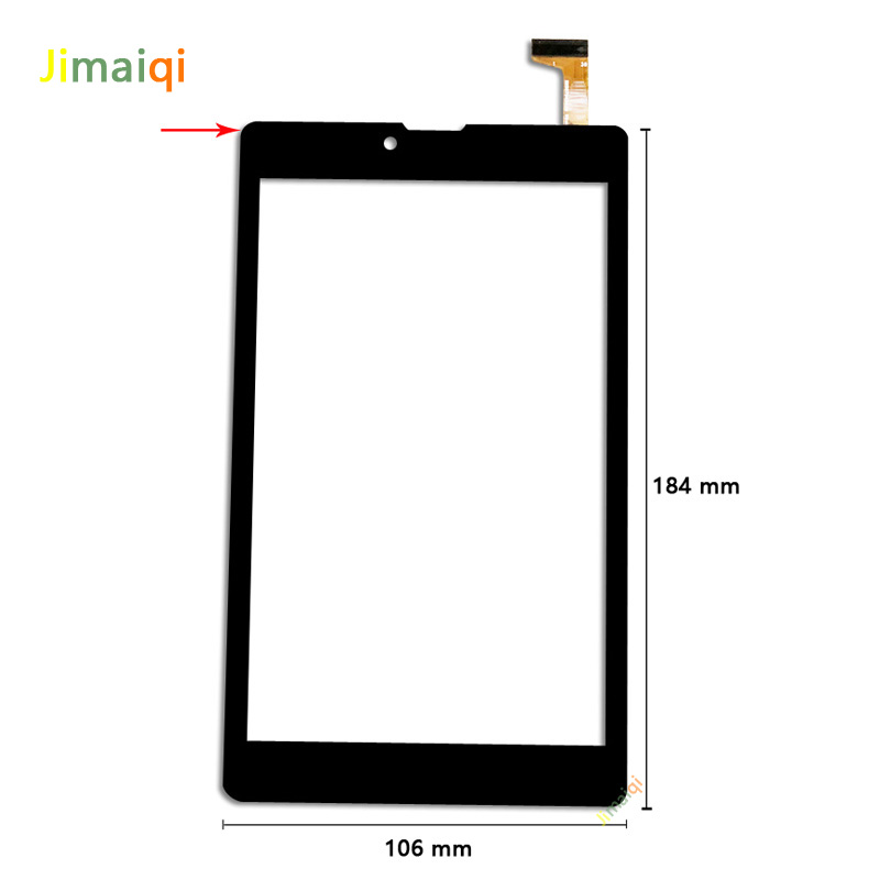 New For 7'' inch Irbis TZ742 3G tablet External capacitive Touch screen Digitizer panel Sensor replacement Phablet Multitouch-in Tablet LCDs & Panels from Computer & Office