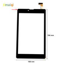 Novo Para 7 polegada Irbis TZ742 3G Phablet tablet capacitive Touch screen Digitador substituição do painel Sensor Externo Multitouch