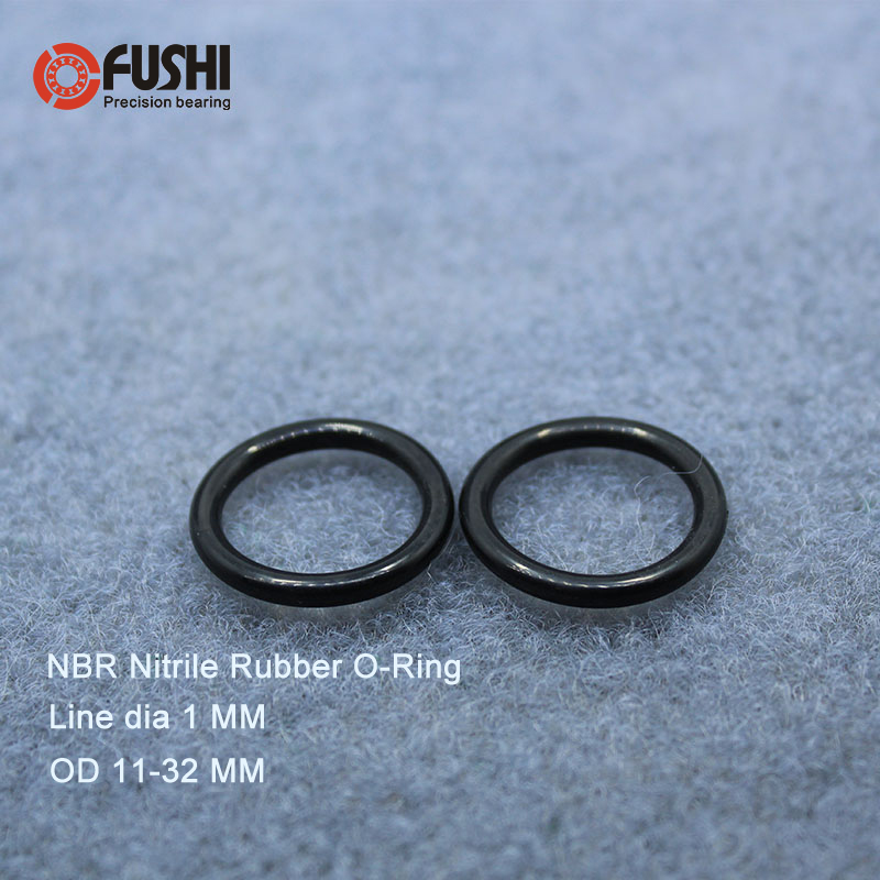 NBR OD 11 12 13 14 15 16 17 18 19 20 22 24 25 28 30 32 mm x 1mm Rubber O Ring Gasket Seal O Shape Pipe Tube Fuel Oil O-Ring NBR OD 11 12 13 14 15 16 17 18 19 20 22 24 25 28 30 32 mm x 1mm Rubber O Ring Gasket Seal O Shape Pipe Tube Fuel Oil O-Ring