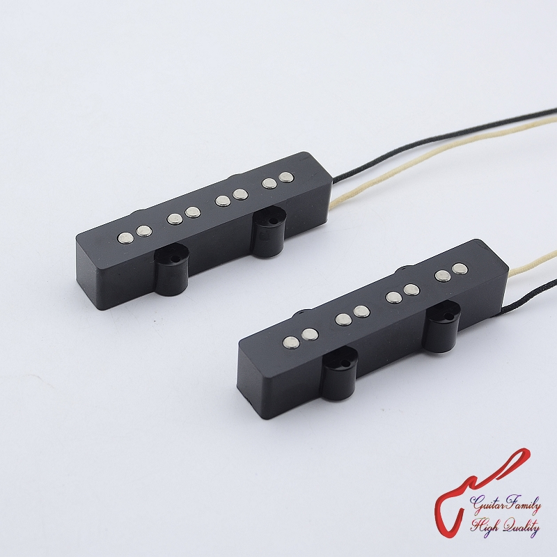 1 Set Super Quantity GuitarFamily Alnico 4 Strings Jazz Bass Pickup ( #0671 ) Made In Korea free shipping triple solenoid valve 4v210 08 2 position base muffler connect 6mm 8mm quick fitting valves set 1 4 bsp