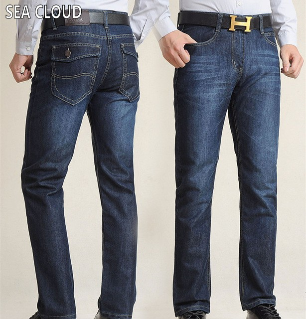 Sea Cloud Free shipping Spring & summer jeans male plus size loose straight long trousers fat extra large casual pants size 52 free shipping autumn and winter male straight plus size trousers loose thick pants extra large men s jeans for weight 160kg