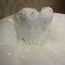 Fansmile vestido de noiva plus size, 2020, vintage, de renda, personalizado, FSM 502F