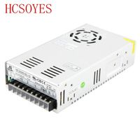100% aluminum 12V 25A 300W with fan Switching cctv Transformer LED drive for ws2811 3014 5050 2835 3528 Led strip led modules