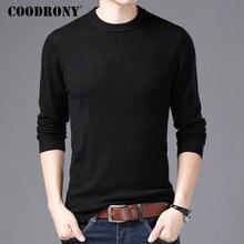 COODRONY ブランドセーター男性 O ネックプルオム秋冬 100% 純粋なメリノウールのセーターソフト暖かいカシミヤプルオーバー男性 93001