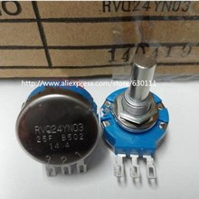 Elektronik Bileşen oyunu potansiyometre RVQ24YN03 25F B502 5K 25mm aks mili RVQ24YN03 25F B502