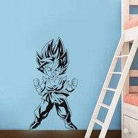 New arrival new cartoon Dragon Ball Super Saiyan vinyl wall decal home decor kids room wallpaper removable wall stickers