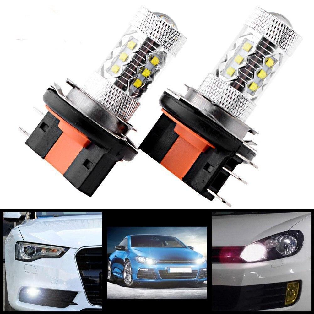 Vehemo H15 автомобильный 16 светодиодный Белый противотуманный светильник дальнего света для VW Golf