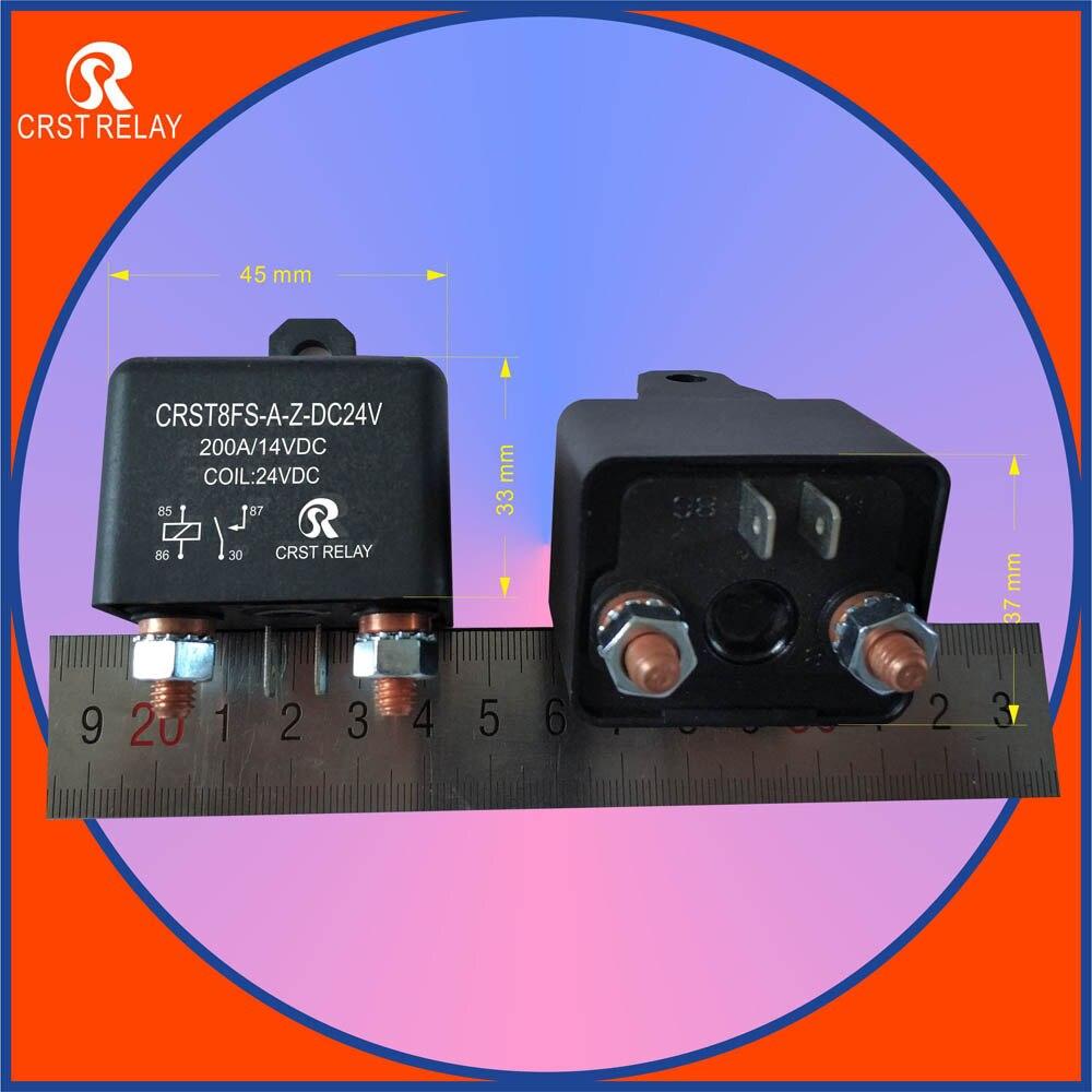 Crst8fs High Current 200a Start Relay 12v 24v Automotive