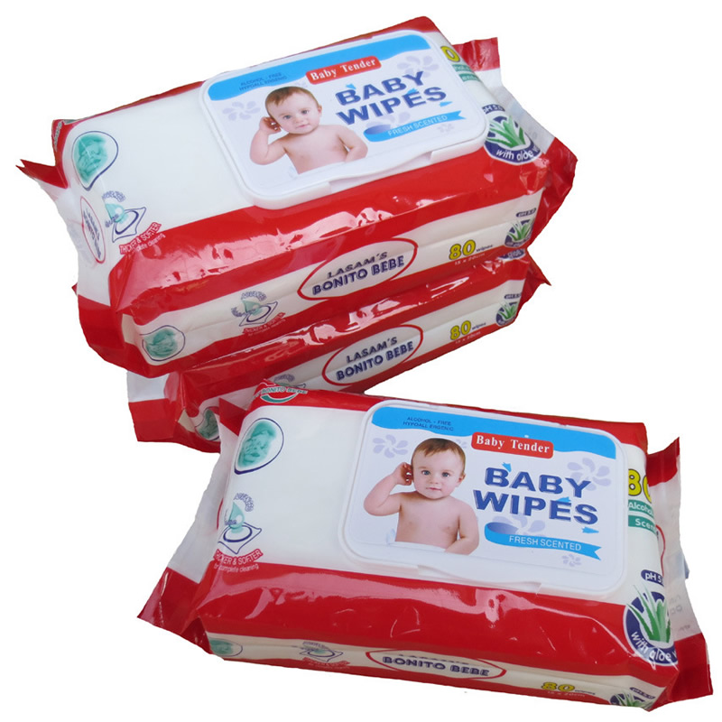 1 Pack Non-woven Fabric Infant Baby Wet Wipes For Kids Portable Wet Wipes Travel Baby Wet Wipes Monther Care <font><b>Accessories</b></font> SJ02