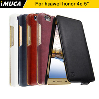 IMUCA Original Huawei Honor 4c Case Luxury PU Leather Flip Cover Case For Huawei Honor 4c
