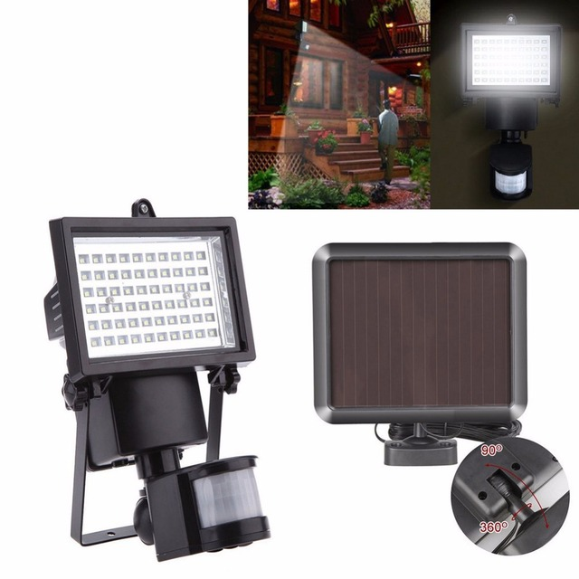 20pcslot ip65 60 leds solar led floodlight outdoor white pir motion 20pcslot ip65 60 leds solar led floodlight outdoor white pir motion sensor led flood aloadofball Gallery