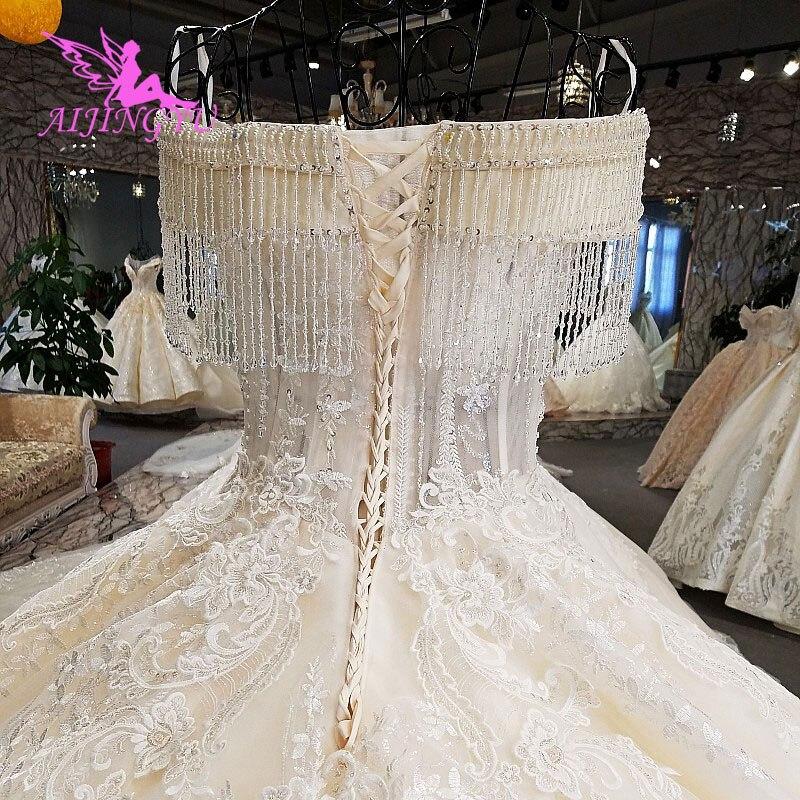 Image 5 - AIJINGYU Luxury Wedding Dress Ball Gown Lace Boho Romantic Angel Inexpensive Gowns Near Me New Wedding DressesWedding Dresses   -