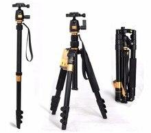 Portable 10 KG ours aluminium manfrotto stand professionnel caméra trépieds pour reflex vidéo clip tripodes par reflex dslr trépied