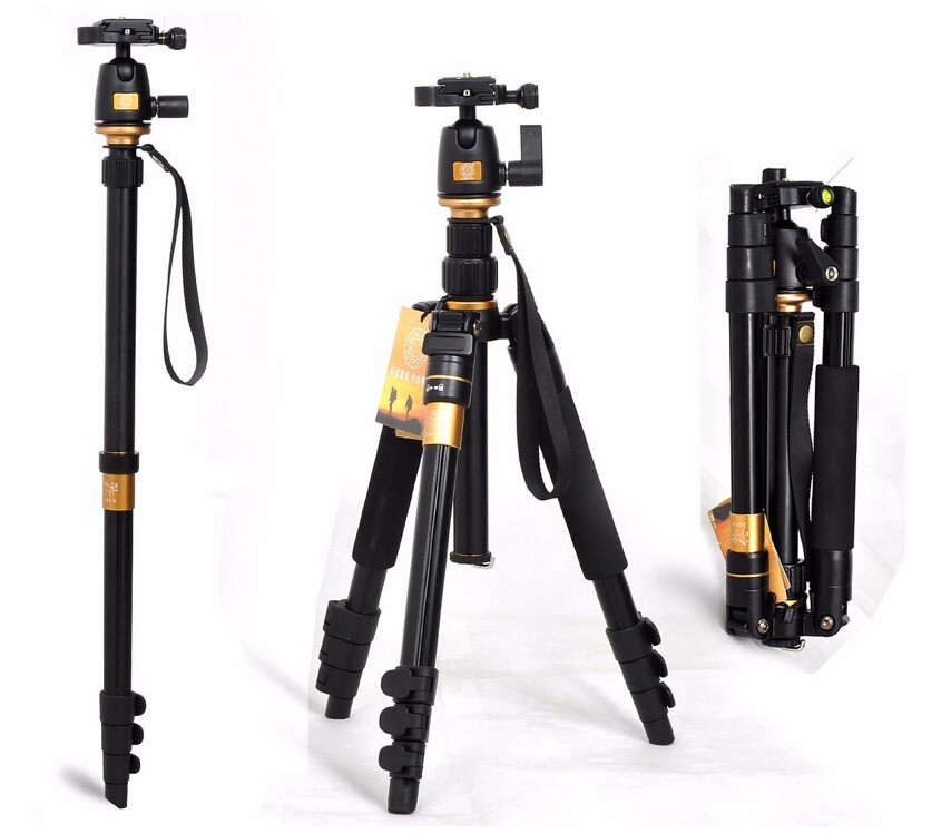 Portable 10KG bear aluminium monopod stand professional camera tripods for slr video clip tripodes para reflex