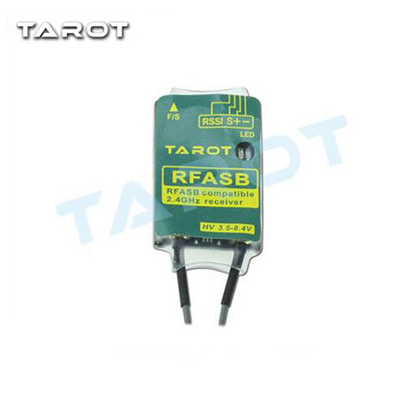 Tarot TL150F2 2.4GHz RFASB Receiver Compatible with FUTABA FASST SBUS FPV Remote Controller Racing Receiver цены