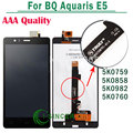 For BQ Aquaris E5 LCD Display Screen Touch Digitizer Assembly AAA Quality Black 5K0858 5k0759 5K0982 5k0760 Versions