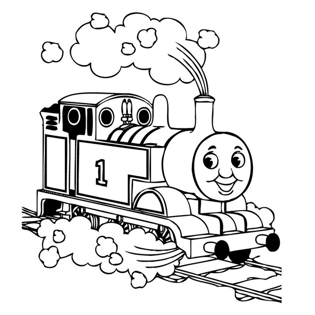 Children Thomas Tank Engine Train Wall Art Sticker Decal Kids Play